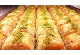 Fıstıklı Baklava %100 Ankara Şekeri